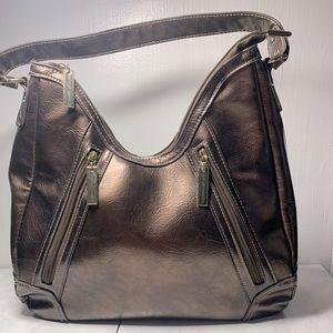 Jen Groover leather shoulder bag